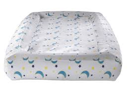 toddler kid air mattress travel bed