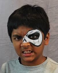 20 easy halloween face paint ideas