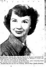 Delores Powell to marry William L. Lytle 1952 - Newspapers.com