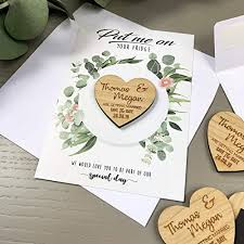 personalised wedding save the date