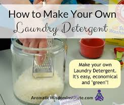 diy all natural laundry detergent