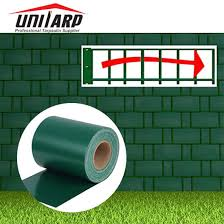China Waterproof 1000 1000d Pvc Privacy Garden Balcony Fence Screen Pvc Strip Fence Tarp Rolls China Garden Balcony Screen And Strip Fence Tarp Rolls Price