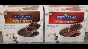 ghirardelli brownie mix dark chocolate