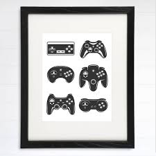 Video Game Wall Art Print 8x10 Dream Big Printables