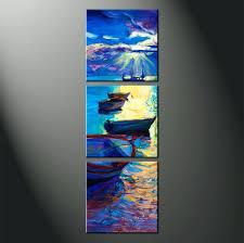 beach themed canvas wall art