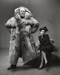 "An Irving Penn Portrait for the Coldest Days of Winter: ""Peter and Dagmar Freuchen"" 