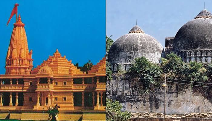 Image result for ram mandir vs babri masjid