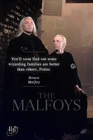 like father like son in the end the malfoys primary focus is