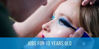 jobs for 13 year olds