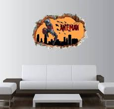 Gadgets Wrap Printed Ant Man City 3 Smashed Wall Decal 22x15 Inch Price In India Buy Gadgets Wrap Printed Ant Man City 3 Smashed Wall Decal 22x15 Inch Online At Flipkart Com