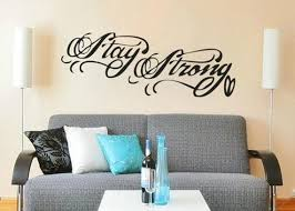 Stay Strong Tattoo Demi Lovato Wall Decal Sticker 32 5w Etsy