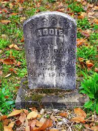 Addie Davis (1870-1871) in Luper Cemetery | Luper Cemetery i… | Flickr