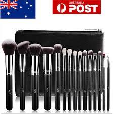 makeup brush set powder eyeshader blush