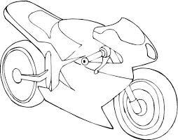 Racemotor Kleurplaat Gratis Kleurplaten Printen