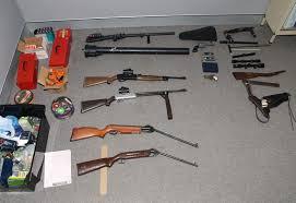 homemade guns seized near toowoomba