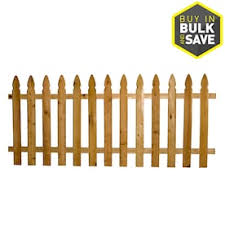 Severe Weather 5 8 In X 4 In W X 4 Ft H Pressure Treated Spruce Pine Fir French Gothic Fence Picket In The Wood Fence Pickets Department At Lowes Com