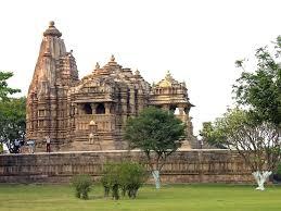 Side View Of Chitragupta Temple At Khajuraho - FindMessages.com