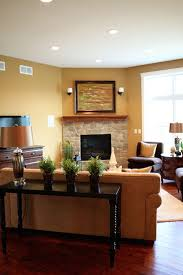 25 corner fireplace living room ideas