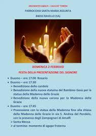 Il Vescovado - Ravello: 2 febbraio si festeggia la Candelora