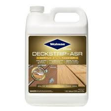 Wolman 1 Gal Deckstrip Asr Acrylic Stain Remover 4 Pack 14706 The Home Depot