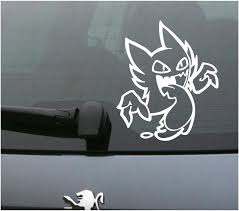 Pokemon Decal 093 Haunter 6 X 7 Wall Decal Etsy