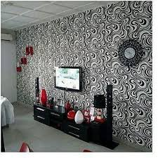 geometric 3d wallpaper black white