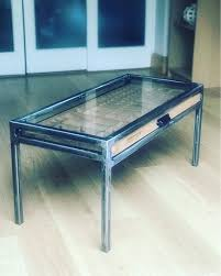 printers tray coffee table handmade