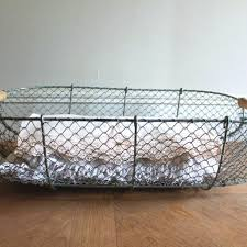 laundry basket french wire basket