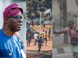"My government will never tolerate the attack of protesters"" - Governor  Sanwo-Olu reacts to Protesters attacked by Thugs in Lagos - Gist Of The Day"