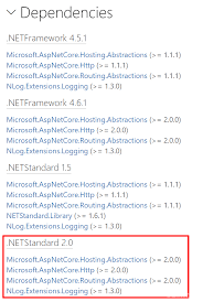 asp net applications to net core