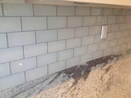 white glass tile grey grout google
