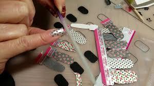 applying incoco nail wraps you