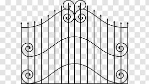 Gate Picket Fence Clip Art Text Graveyard Cliparts Transparent Png