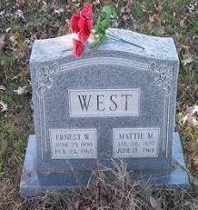 """Martha Ann """"Mattie"""" Huskey West (1896-1969) - Find A Grave Memorial"""