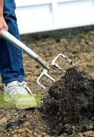 gap gardens mixing sand into soil