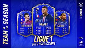 FIFA 20 TOTS Predictions - Ligue 1 - Futhead News