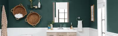 bathroom paint colors the home depot