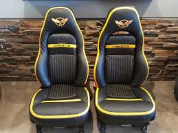 97 04 c5 corvette rebuilt custom seats