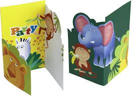 6 Tarjetas De Invitacion Estilo Safari Decoracion Y Disfraces