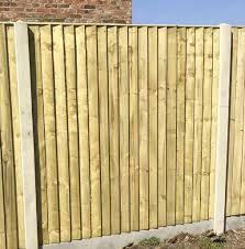 Heavy Duty Featheredge Panel Tanalised Adrian Hall Garden Centres London