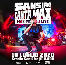 Max Pezzali in concerto a San Siro nel 2020: l'annuncio ufficiale