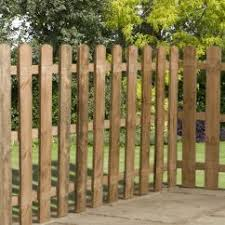 3ft X 6ft Square Top Picket Fence Panel One Garden Picket Fence Panels Cheap Garden Furniture Garden Furniture Sale