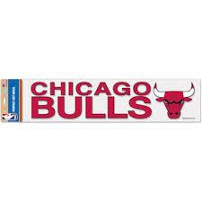 Chicago Bulls Car Decals Bulls Bumper Stickers Decals Fanatics