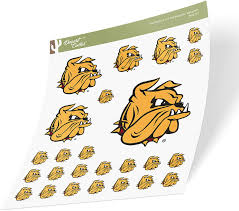 Amazon Com University Of Minnesota Duluth Umd Bulldogs Ncaa Sticker Vinyl Decal Laptop Water Bottle Car Scrapbook Sheet Type 3 1 Arts Crafts Sewing