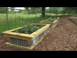 diy homemade raised garden bed you