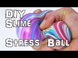 how to make diy slime stress