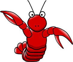 Clipart cartoon lobster - ClipartAndScrap