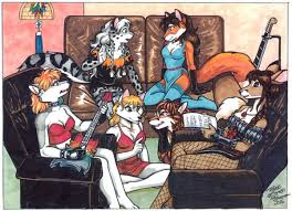 Cassie's Band by Terrie Smith by cassietherockvixen -- Fur Affinity [dot]  net