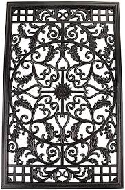 Nuvo Iron Rectangle Decorative Gate Fence Insert Acw61 Fencing Fence Gates Home Amazon Ca Patio Lawn Garden