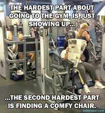 funny workout dump a day